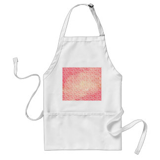 Crazy Love Funky Watercolor Text Design Pattern Adult Apron