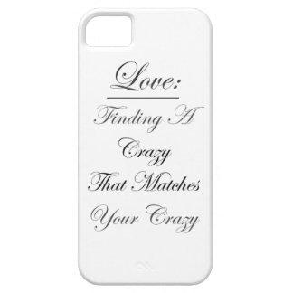 Crazy Love iPhone SE/5/5s Case