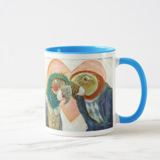 Crazy Love! Love Birds Mug