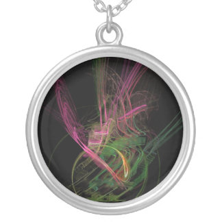 Crazy Love Silver Plated Necklace