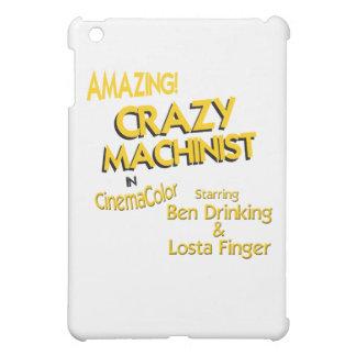Crazy Machinist iPad Mini Cover