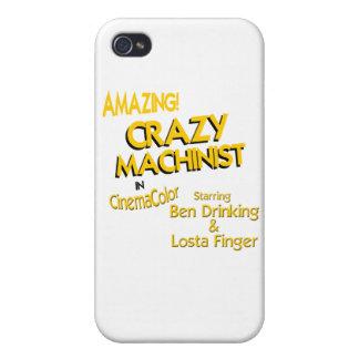 Crazy Machinist iPhone 4 Cover