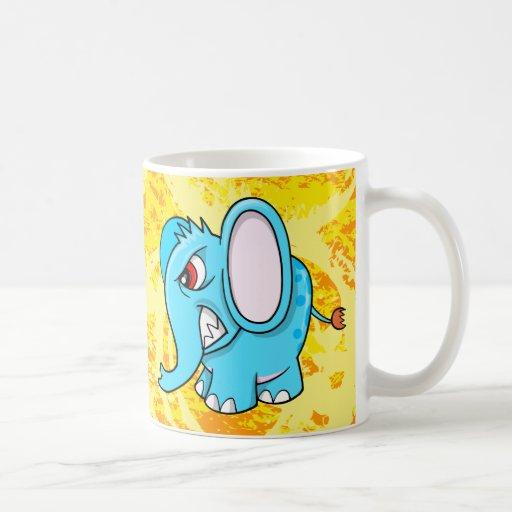 Crazy Mad Elephant Mug