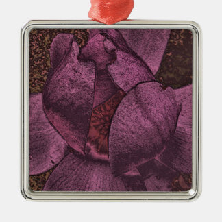 Crazy Magnolia Collection Metal Ornament