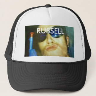 crazy man, RUSSELL Trucker Hat