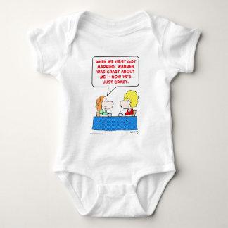 crazy married baby bodysuit