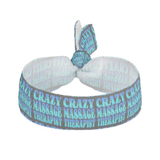 Crazy Massage Therapist Elastic Hair Tie