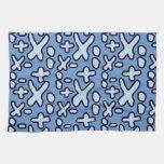 Crazy Maths Symbols - Blue Toalla De Mano