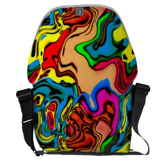 Colorful Design Messenger Bag