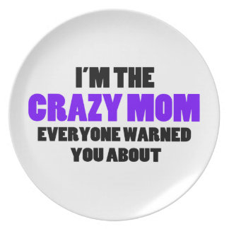 Crazy Mom You Were Warned About Melamine Plate