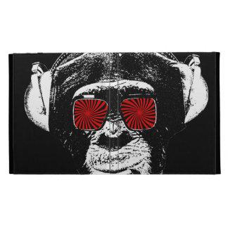 Crazy monkey iPad folio cover