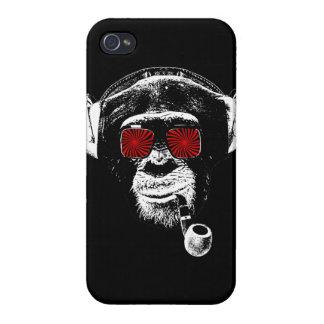 Crazy monkey iPhone 4/4S cases