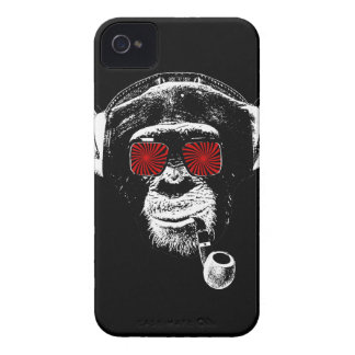 Crazy monkey iPhone 4 cover