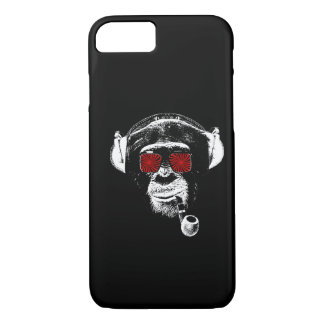 Crazy monkey iPhone 7 case