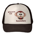 Crazy Monkey Mesh Hats