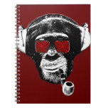 Crazy monkey note book