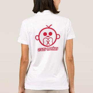 Crazy Monkey Polo Shirt