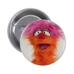 Crazy Monster Badge Button