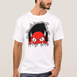 Crazy Monster Demon ripping front and back T-Shirt