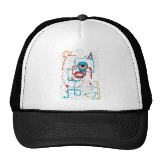 Crazy Monster Face Funny Trucker Hat