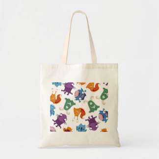 Crazy Monsters Fun Colorful Patterns for Kids Bag