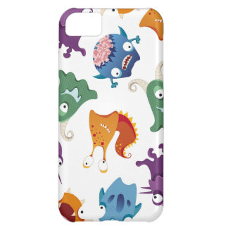 Crazy Monsters Fun Colorful Patterns for Kids iPhone 5C Case