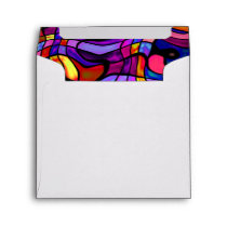 Crazy Mosaic Colorful Collision Envelope