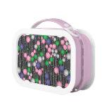 crazy mosaic pink balls lunchbox
