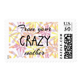 Crazy Mother Stamp