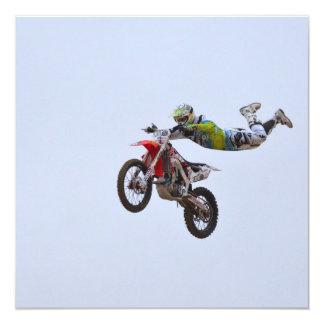 Crazy Motocross Personalized Announcement