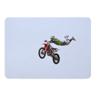 Crazy Motocross Invites