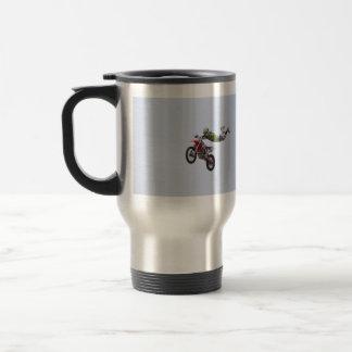 Crazy Motocross Coffee Mug