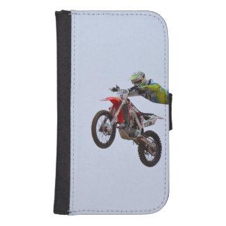 Crazy Motocross Phone Wallet Case
