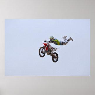 Crazy Motocross Poster