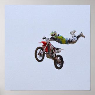 Crazy Motocross Posters