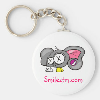 Crazy Mouse Head Design Keychain