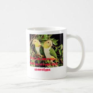 CRAZY MUG BIRD LOVER