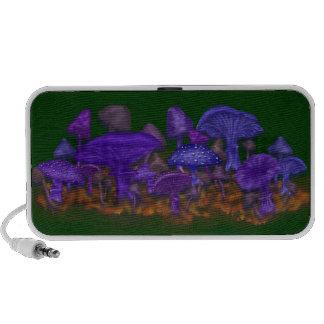 Crazy Mushrooms Portable Speaker
