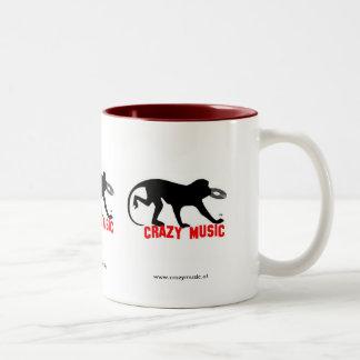 Crazy Music Mug