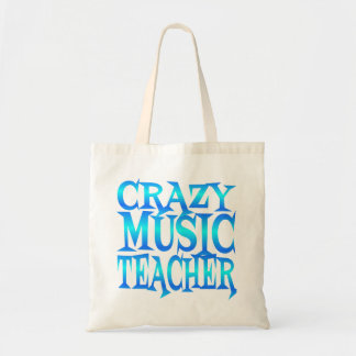 Crazy Music Teacher Tote Bag