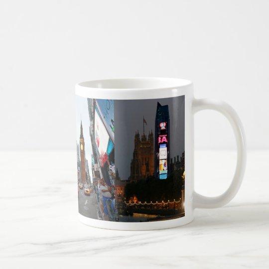 Crazy! New York City meets London Coffee Mug
