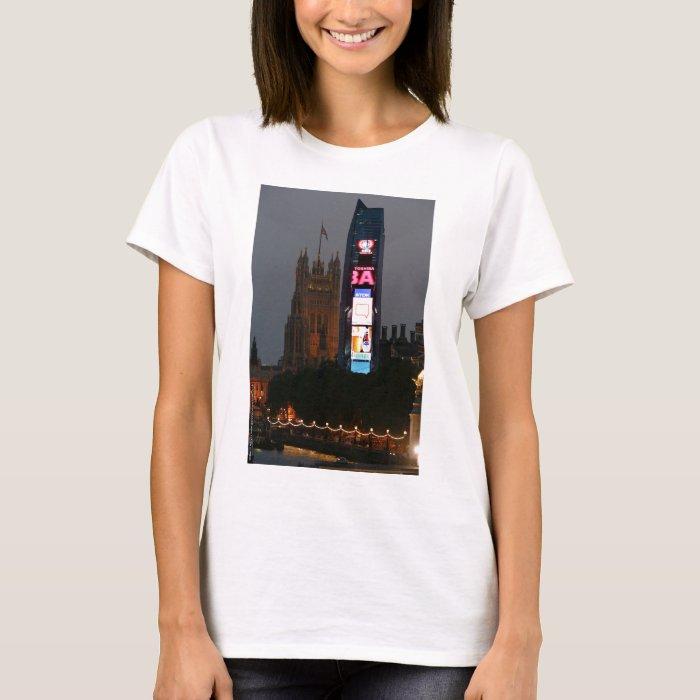 Crazy! New York City meets London T-Shirt