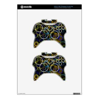 Crazy Octagon Abstract Xbox 360 Controller Skin