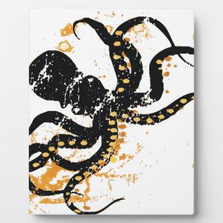 Crazy Octopus Plaque
