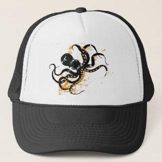 Crazy Octopus Trucker Hat