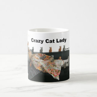 Crazy old Cat lady Coffee Mug