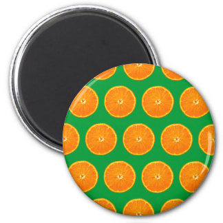 Crazy on Clementines - Green Magnet