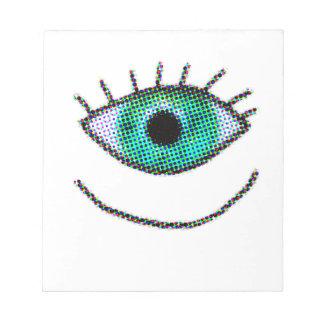 Crazy One Big Eye Memo Pads