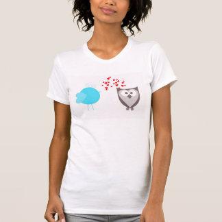 Crazy owl and nice burd T-Shirt