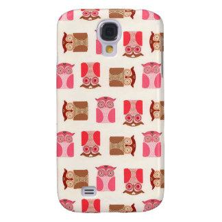 Crazy Owls Samsung S4 Case